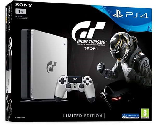 Sony Playstation 4 Slim 1TB Gran Turismo Sport Limited Bundle