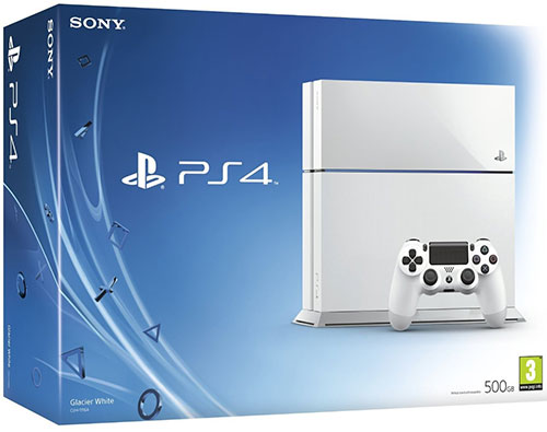 Sony Playstation 4 500GB White