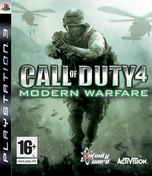 Call of Duty 4 Modern Warfare - PlayStation 3 Játékok
