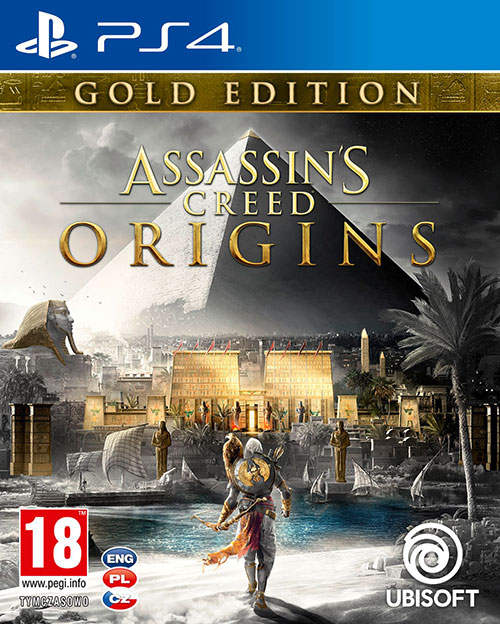 Assassins Creed Origins Gold Edition - PlayStation 4 Játékok