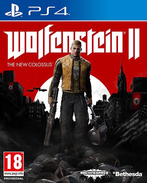 Wolfenstein II The New Colossus - PlayStation 4 Játékok