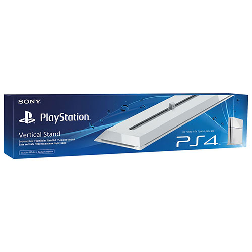 Sony Playstation 4 Vertical Stand White Fat