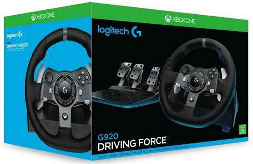 Logitech G920 Driving Force Racing Wheel Kormány (Xbox One/PC)
