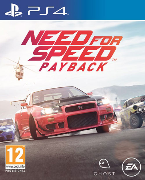Need For Speed Payback - PlayStation 4 Játékok
