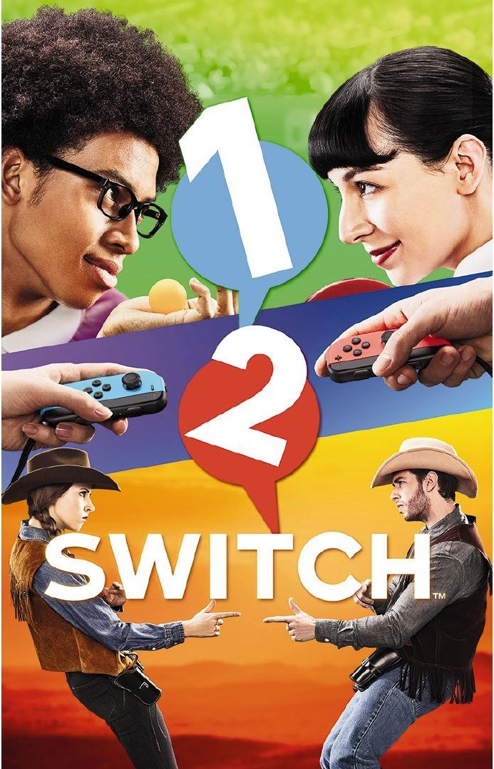 1-2-SWITCH - Nintendo Switch Játékok