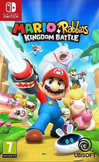 Mario + Rabbids Kingdom Battle - Nintendo Switch Játékok