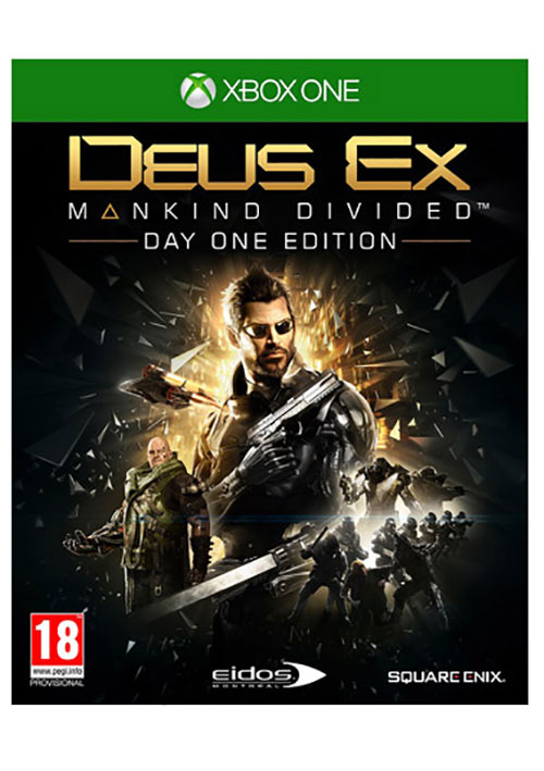 Deus Ex Mankind Divided - Xbox One Játékok