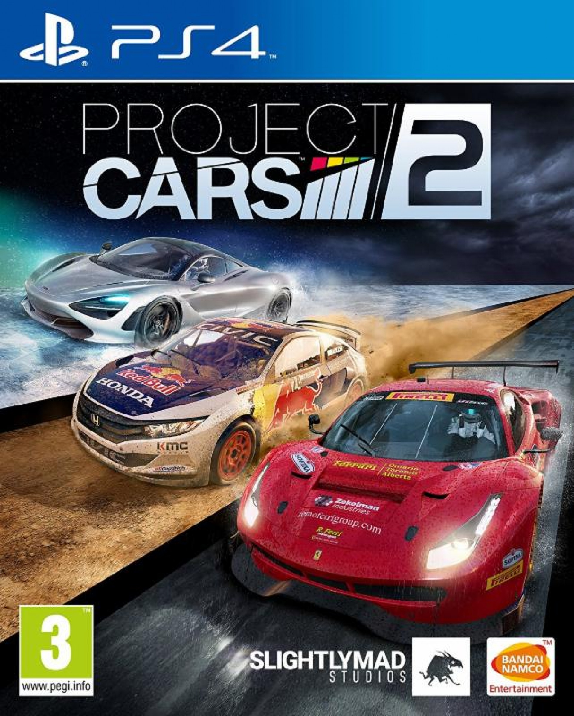 Project Cars 2 - PlayStation 4 Játékok