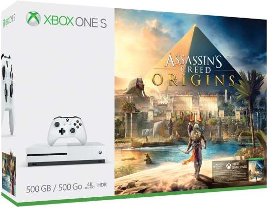 Microsoft XBOX One S 500GB Assassins Creed Origins Bundle