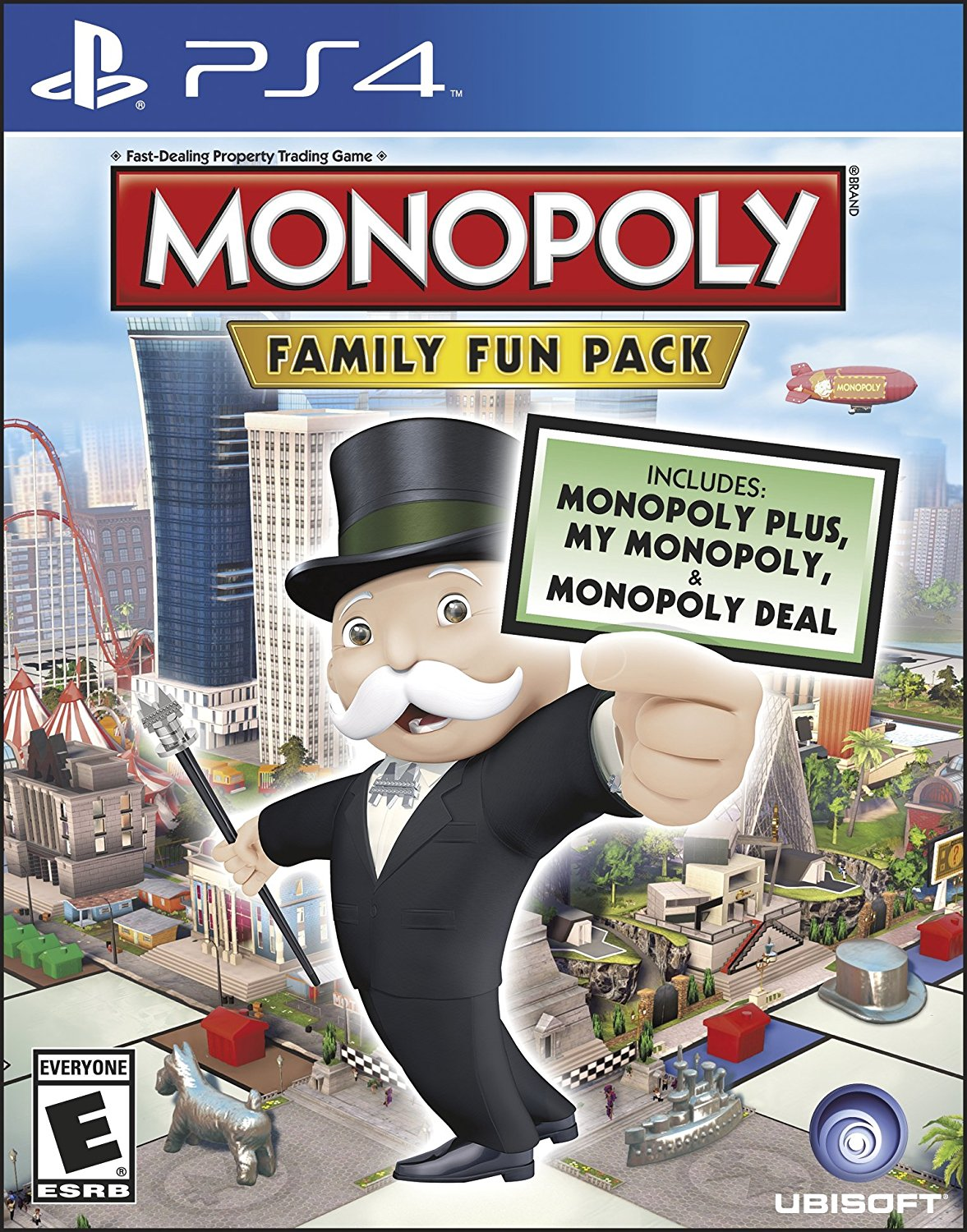 Monopoly Family Fun Pack - PlayStation 4 Játékok