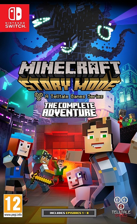 Minecraft Story Mode The Complete Adventure - Nintendo Switch Játékok