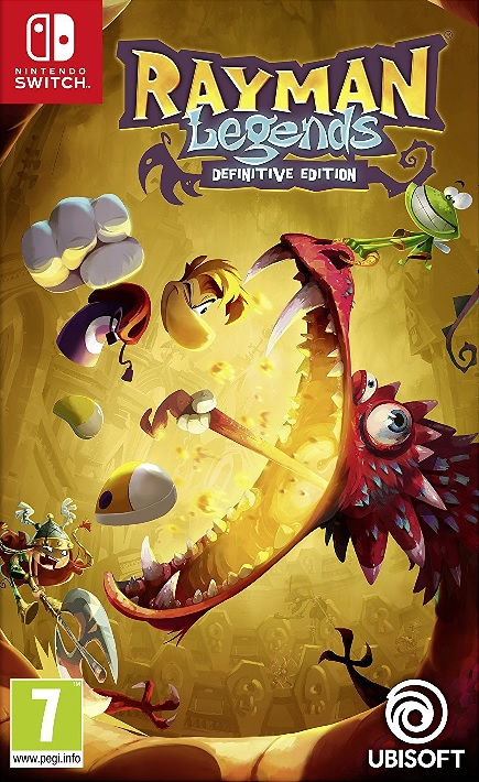 Rayman Legends Definitive Edition - Nintendo Switch Játékok