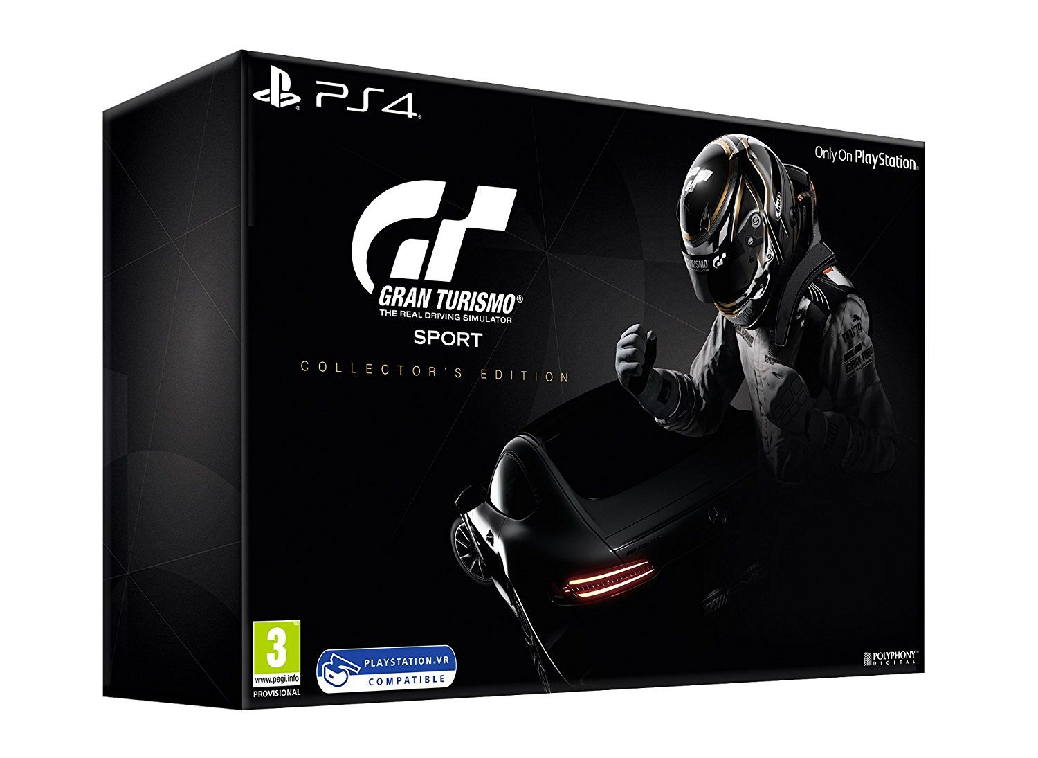 Gran Turismo Sport Collectors Edition - PlayStation 4 Játékok