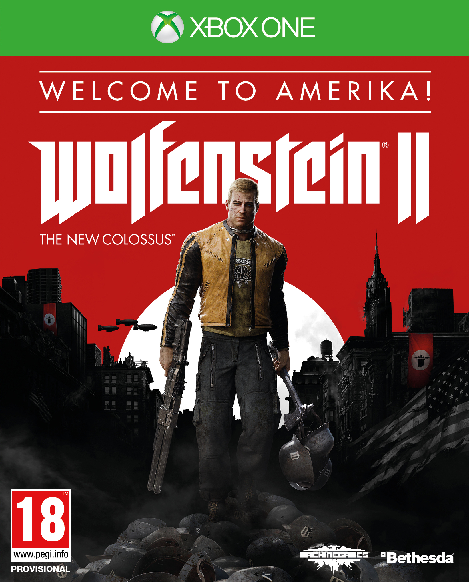 Wolfenstein II The New Colossus Welcome to Amerika Edition