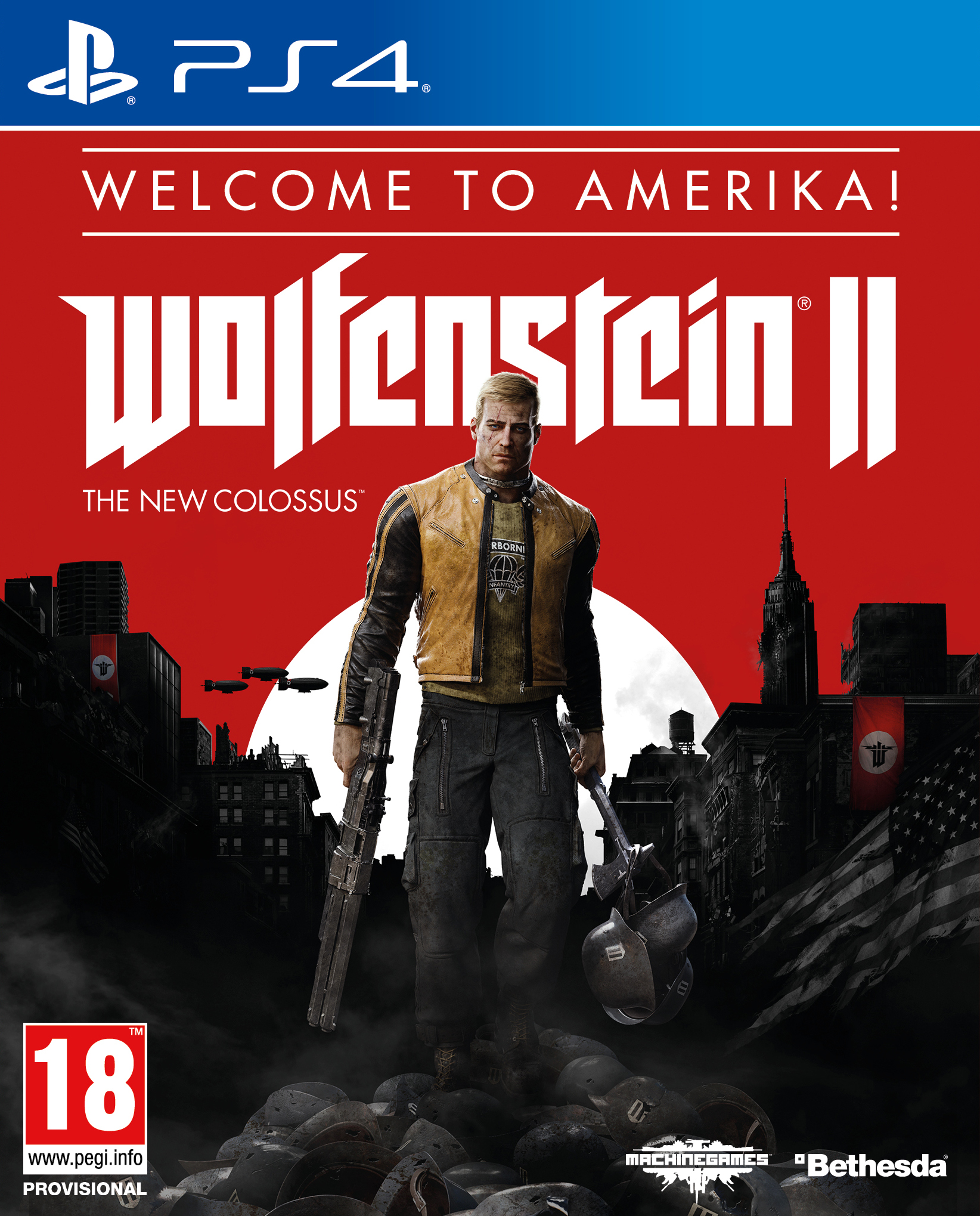 Wolfenstein II The New Colossus Welcome to Amerika Edition - PlayStation 4 Játékok