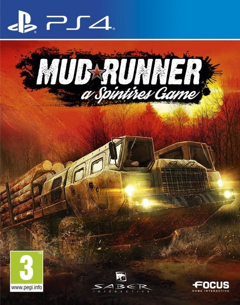 MudRunner a Spintires Game - PlayStation 4 Játékok