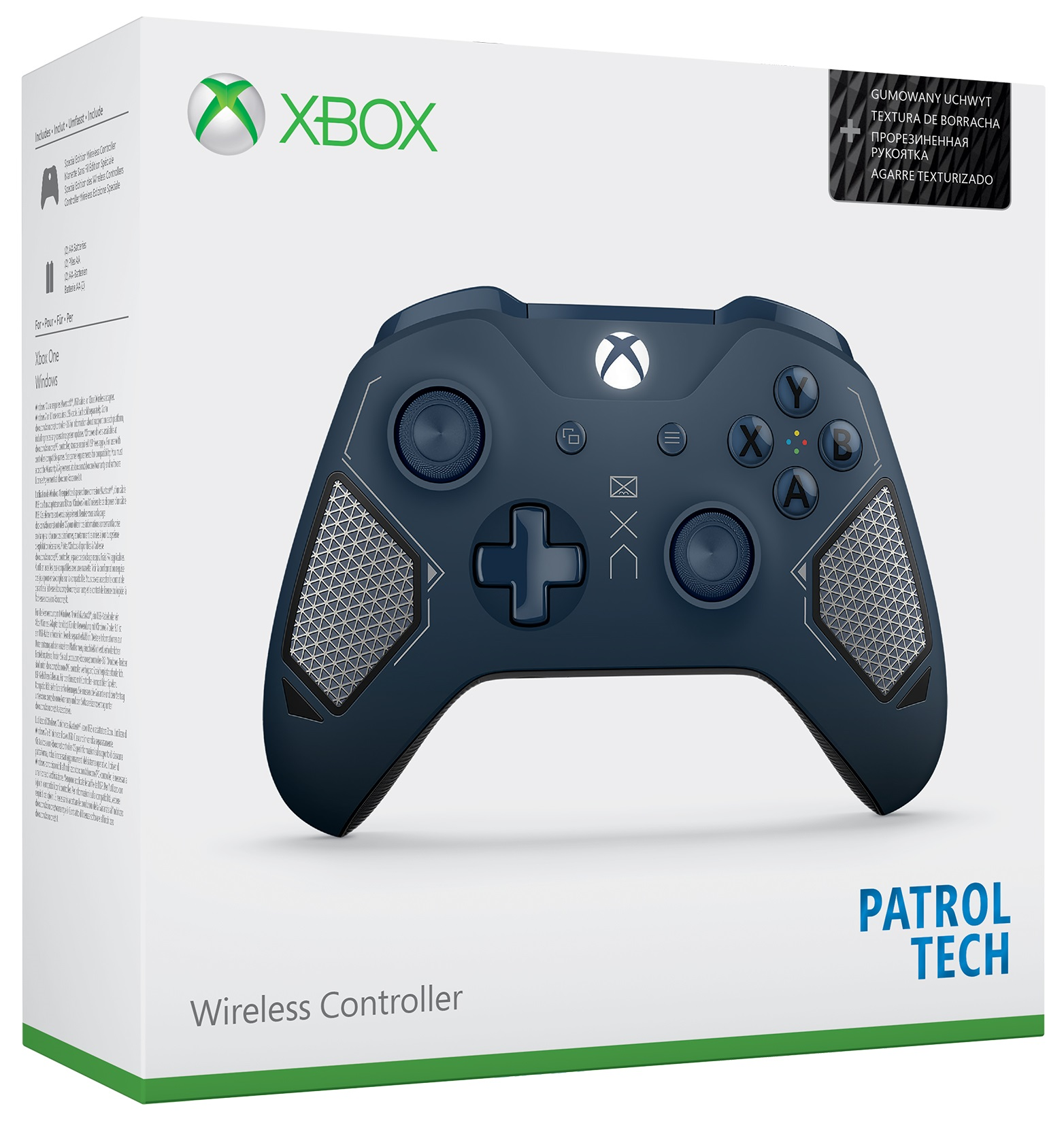 Microsoft Xbox One Wireless Controller Patrol Tech - Xbox One Kiegészítők