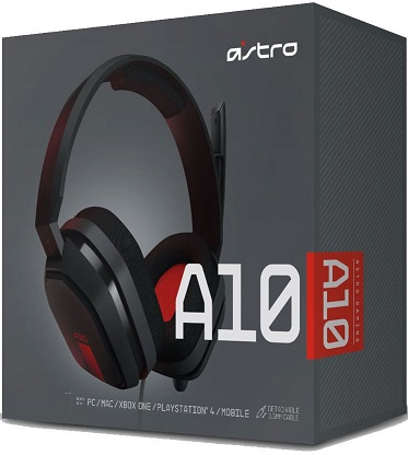 Astro Gaming A10 Headset (PS4,XBOX ONE, PC, MAC)