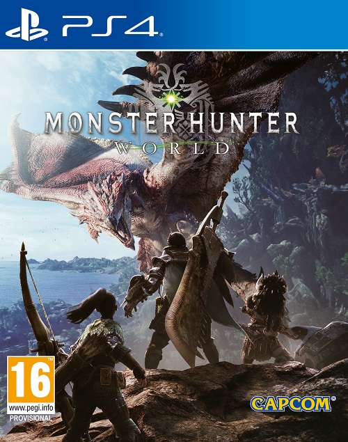Monster Hunter: World  - PlayStation 4 Játékok