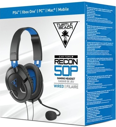 Turtle Beach Ear Force Recon 50P Gaming Headset (PS4, XBOX ONE, PC, Mac)