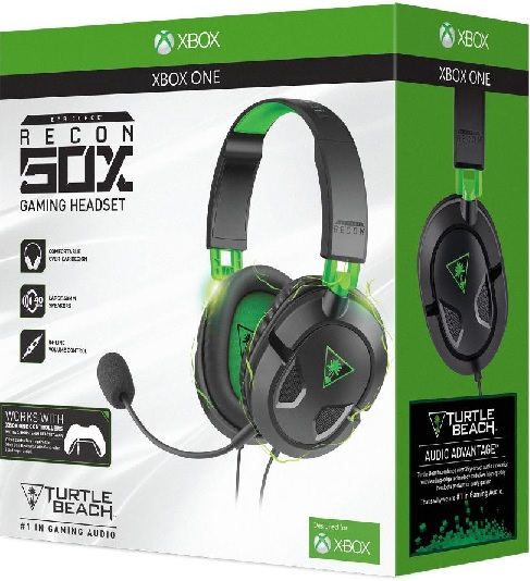 Turtle Beach Ear Force Recon 50X Gaming Headset (XBOX ONE)