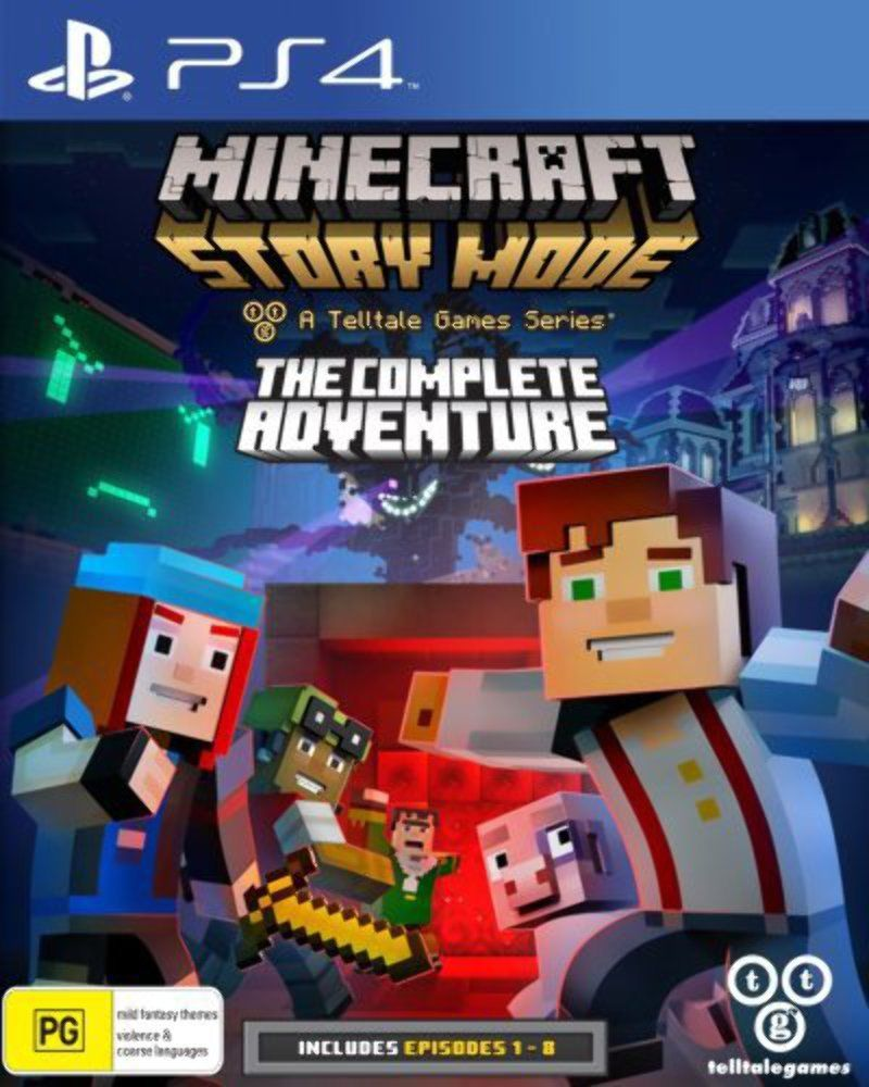 Minecraft Story Mode The Complete Adventure - PlayStation 4 Játékok