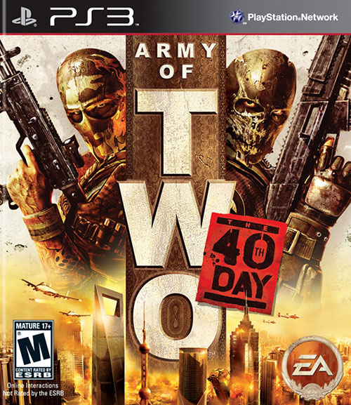 Army of Two The 40th Day - PlayStation 3 Játékok