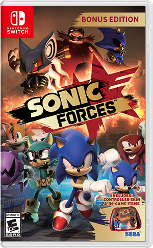 Sonic Forces - Nintendo Switch Játékok