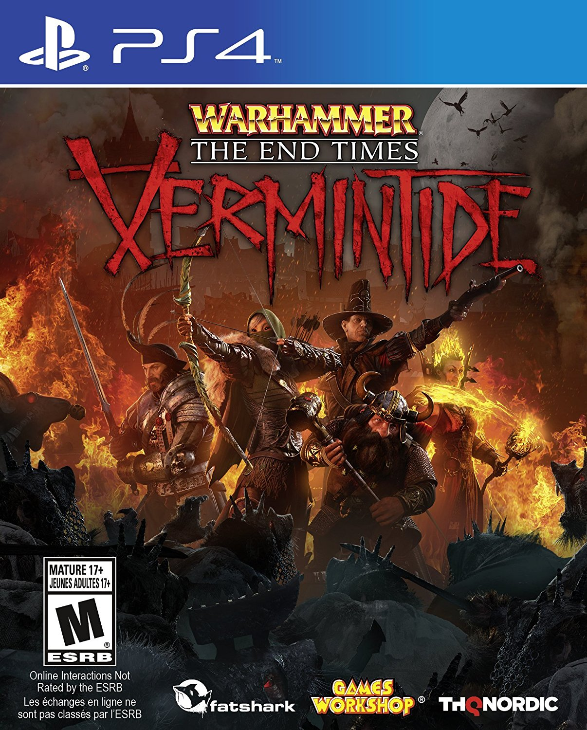Warhammer The End Times Vermintide - PlayStation 4 Játékok