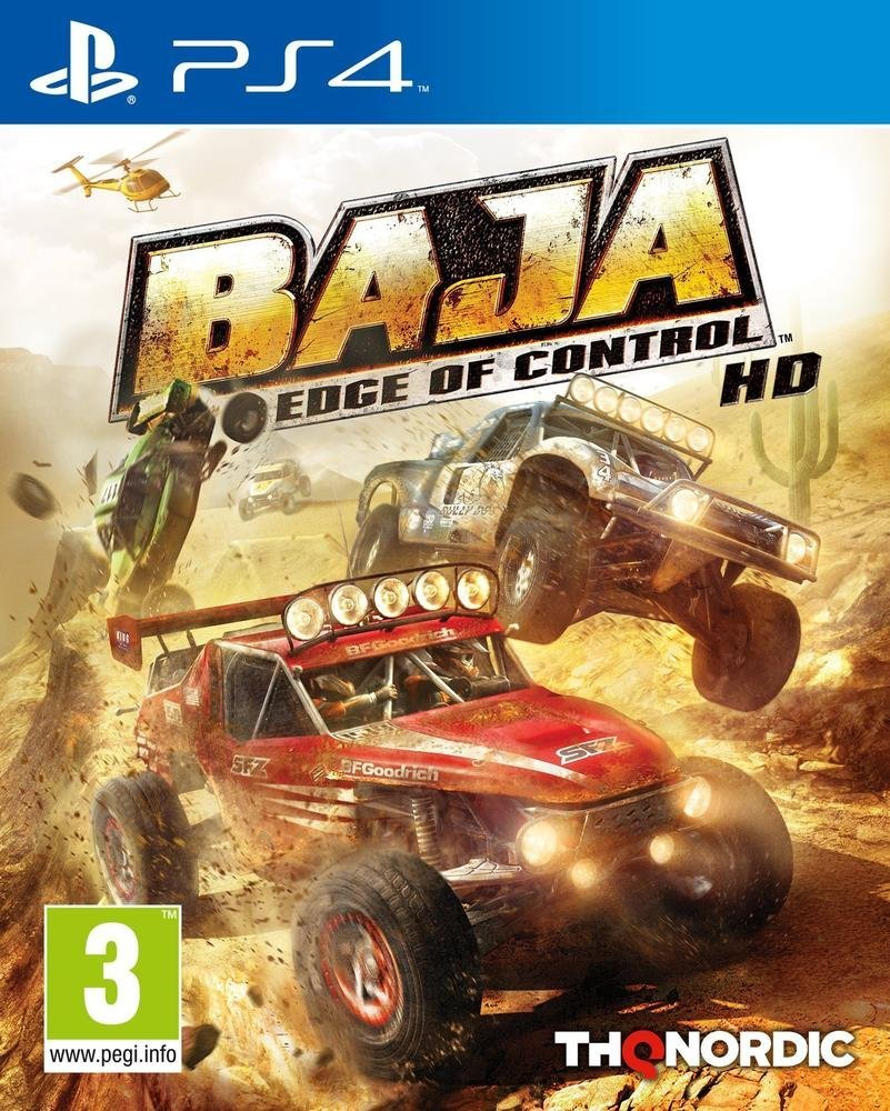 Baja : Edge Of Control HD - PlayStation 4 Játékok