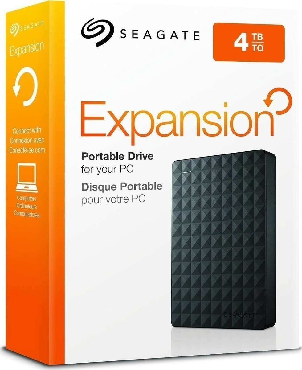 Seagate Expansion Portable 4TB USB3.0 HDD