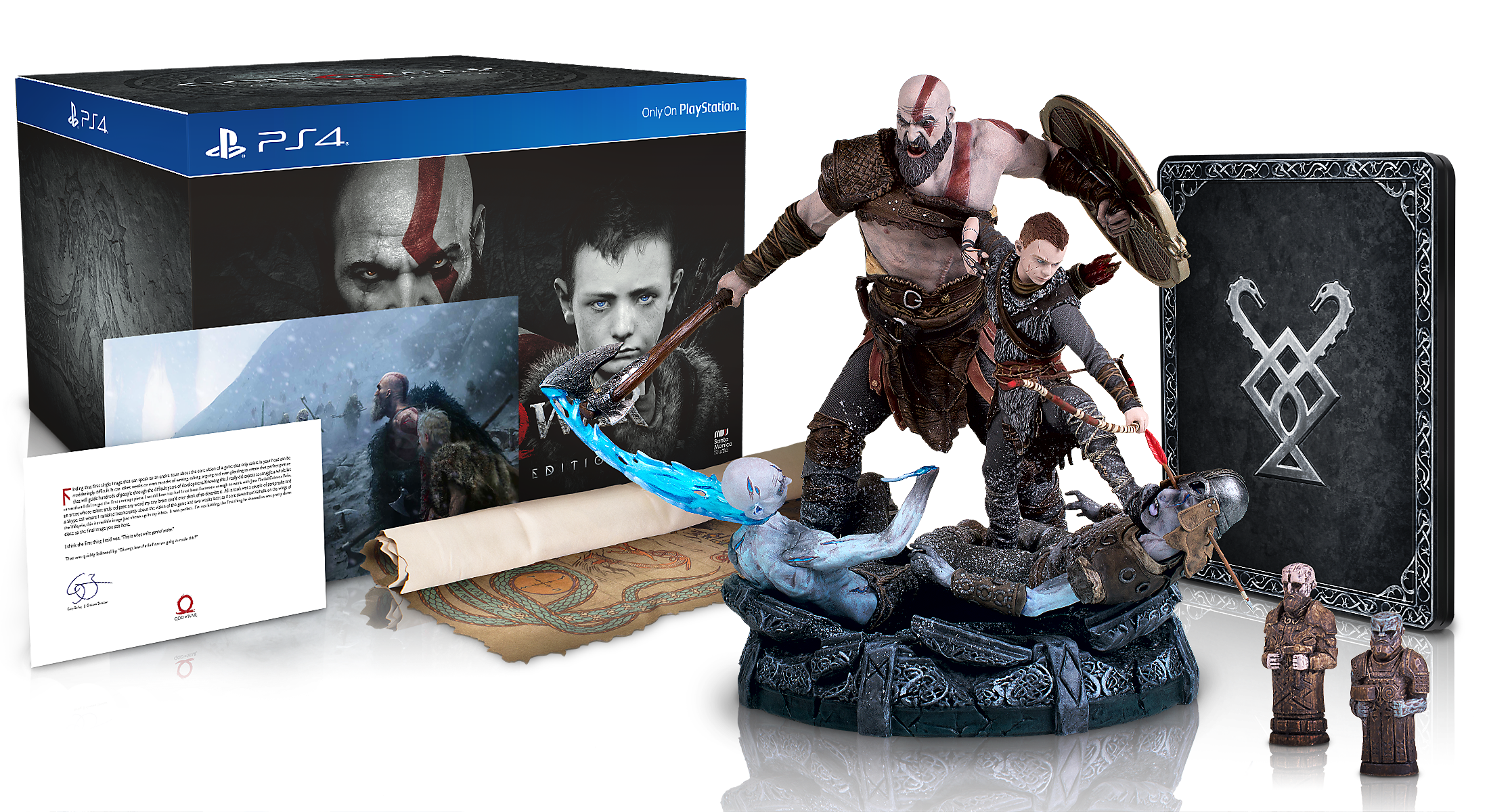 God of War Collectors Edition (Magyar felirattal)  - PlayStation 4 Játékok