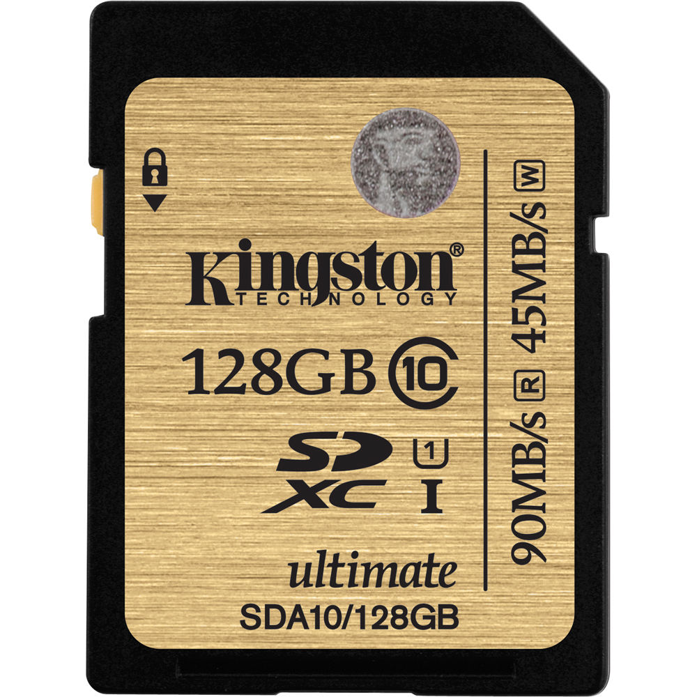 Kingston 128GB SDXC UHS-I U1 Class 10 - Multimédia Memóriakártya