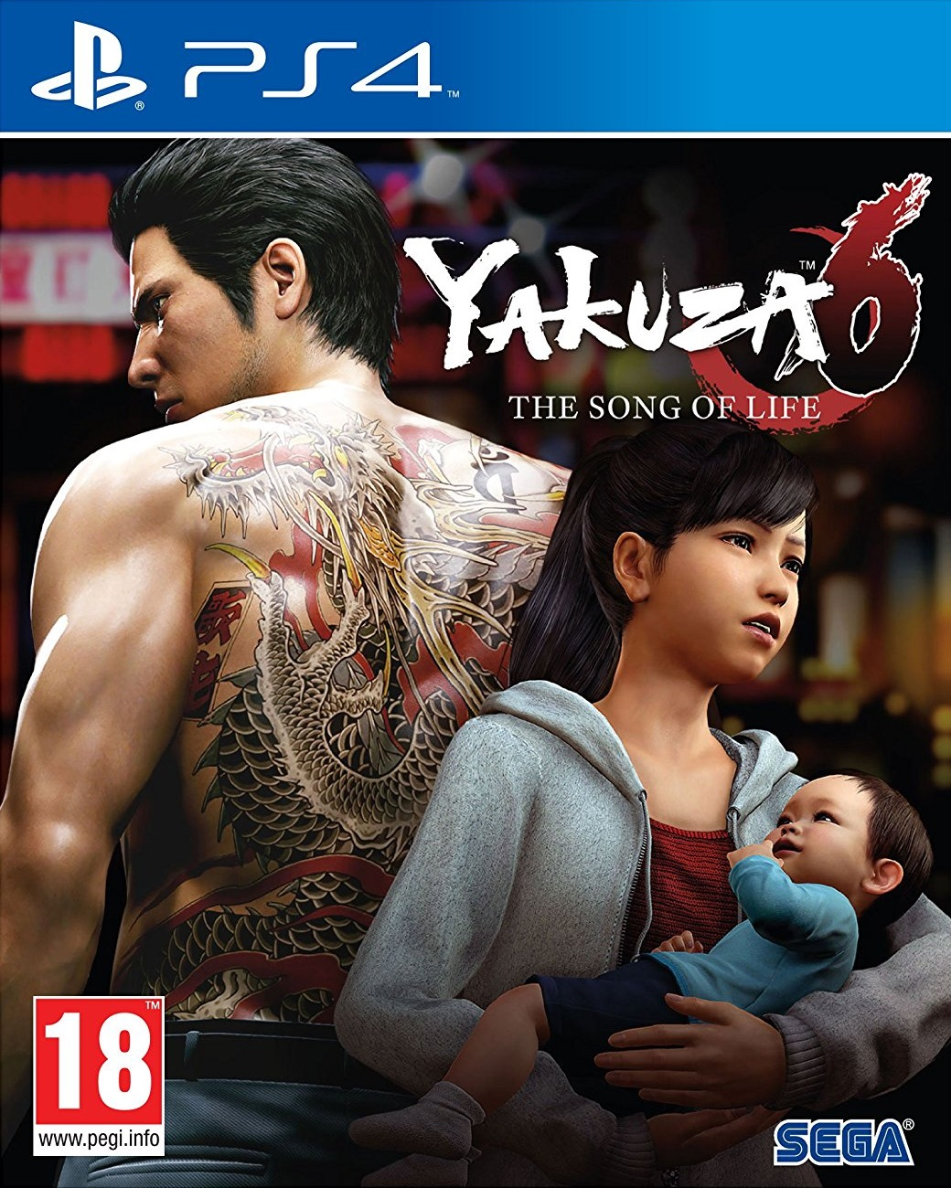 Yakuza 6: The Song of Life Essence Art Edition - PlayStation 4 Játékok