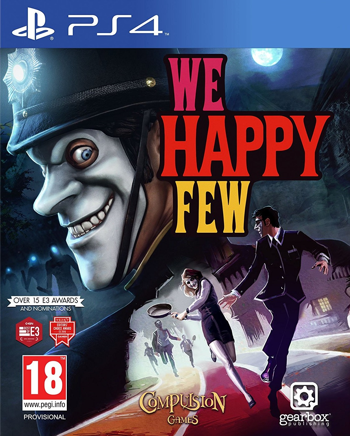 We Happy Few - PlayStation 4 Játékok