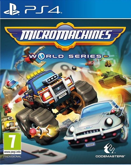Micro Machines World Series - PlayStation 4 Játékok