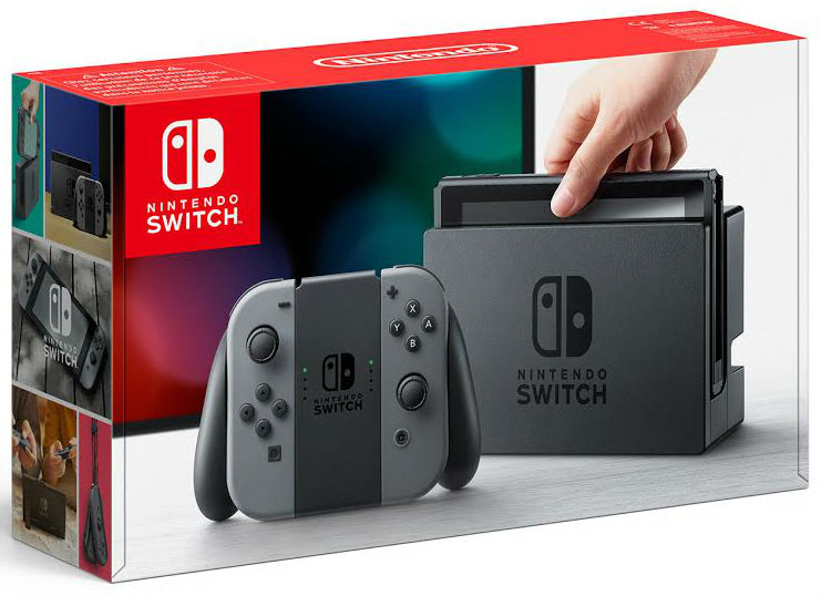 NINTENDO Switch Grey - Nintendo Switch Gépek
