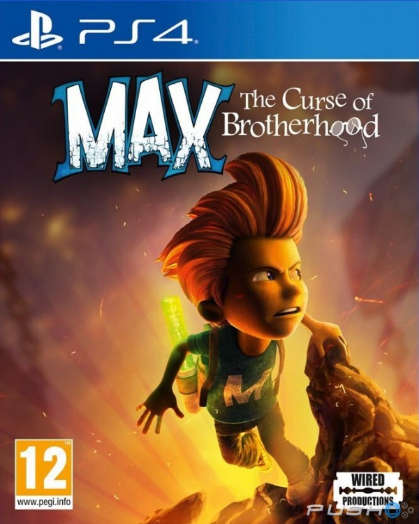 Max The Curse of Brotherhood - PlayStation 4 Játékok