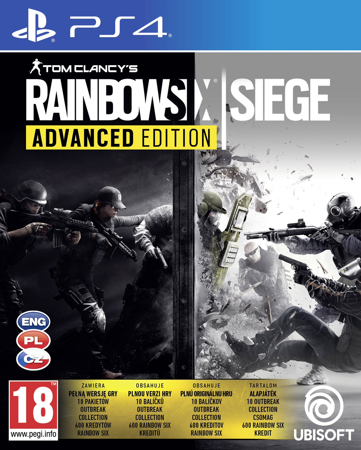 Tom Clancys Rainbow Six Siege Advanced Edition