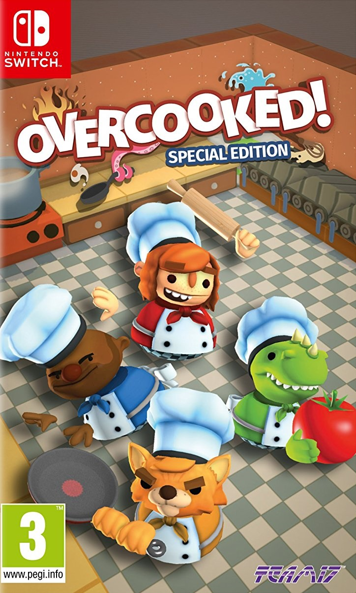 Overcooked Special Edition - Nintendo Switch Játékok