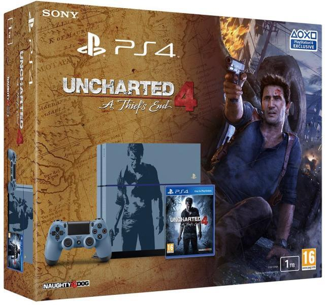 Sony Playstation 4 1TB Uncharted 4 Thiefs End Limited Edition