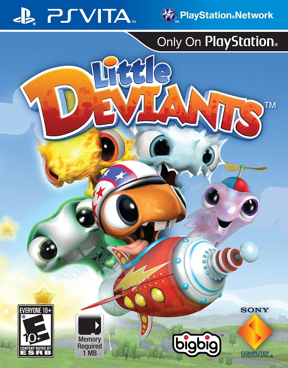 Little Deviants - PS Vita Játékok