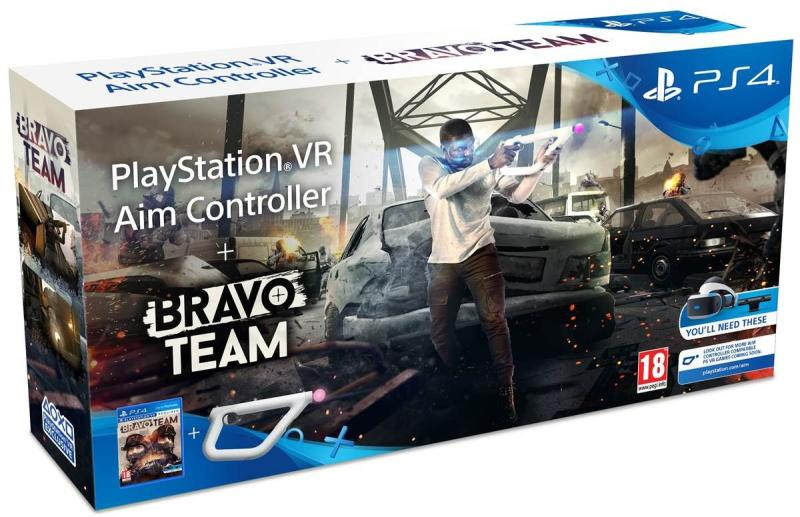 Bravo Team VR + PlayStation VR Aim Controller
