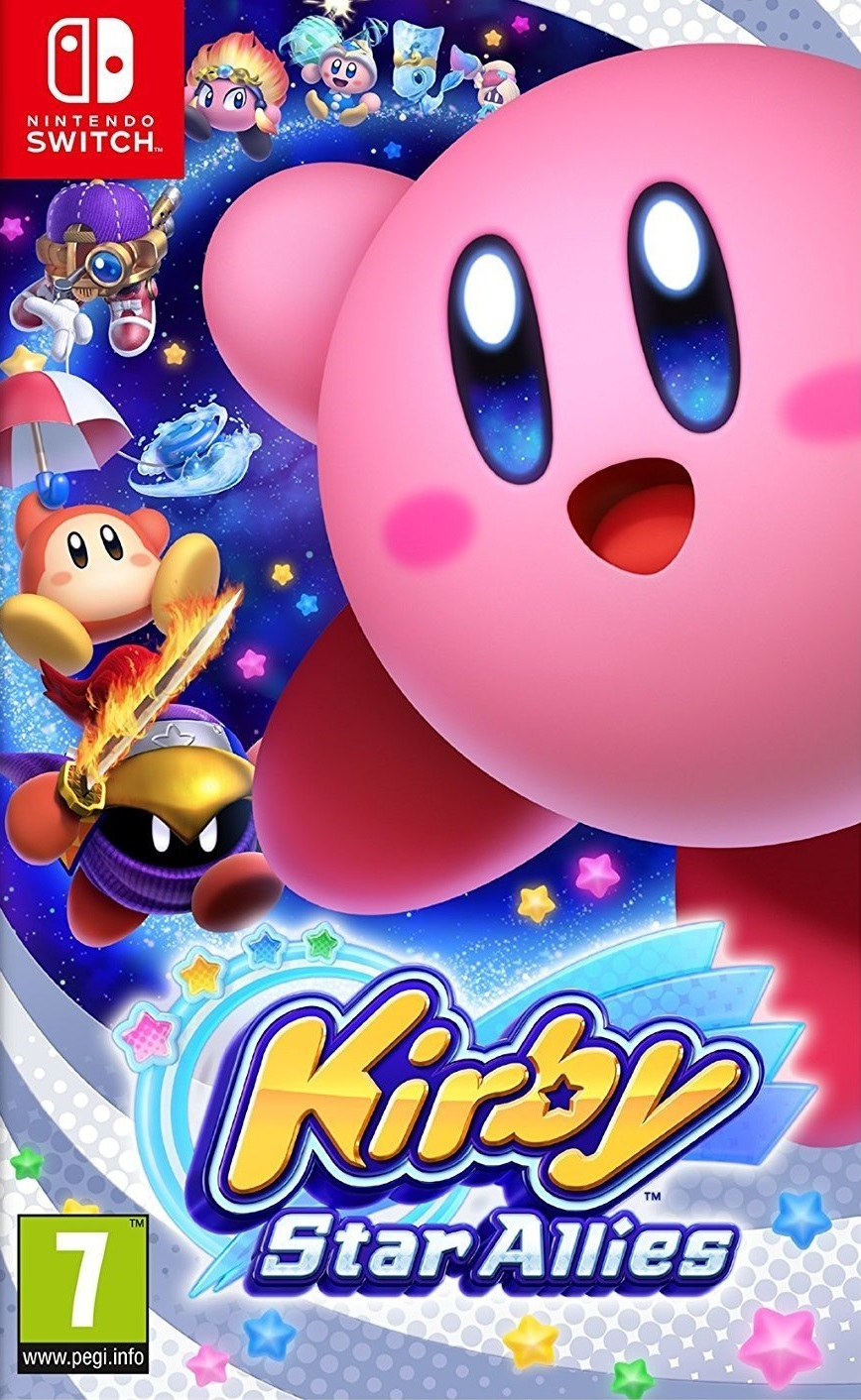 Kirby Star Allies - Nintendo Switch Játékok