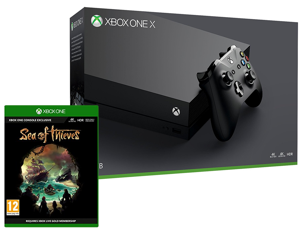 Microsoft Xbox One X 1TB Sea Of Thieves Bundle - Xbox One Gépek