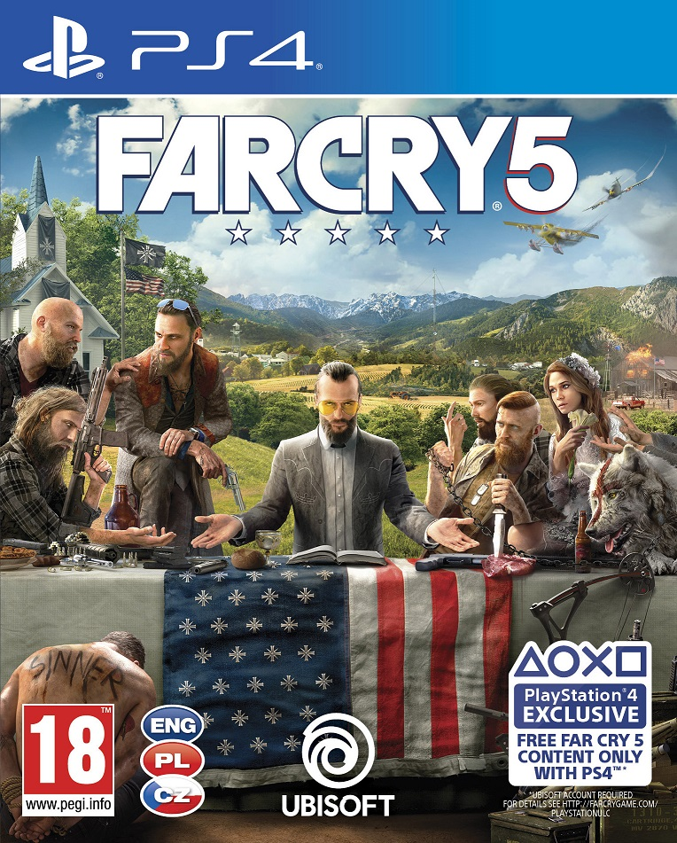 Far Cry 5 (PS4) - PlayStation 4 Játékok