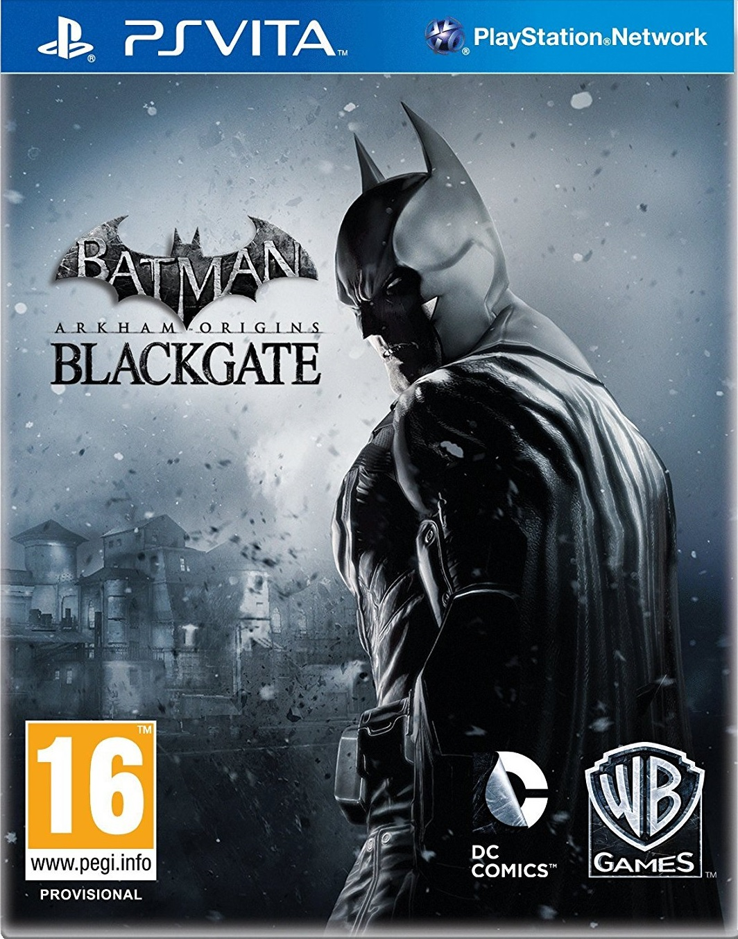 Batman Arkham Origins Blackgate - PS Vita Játékok