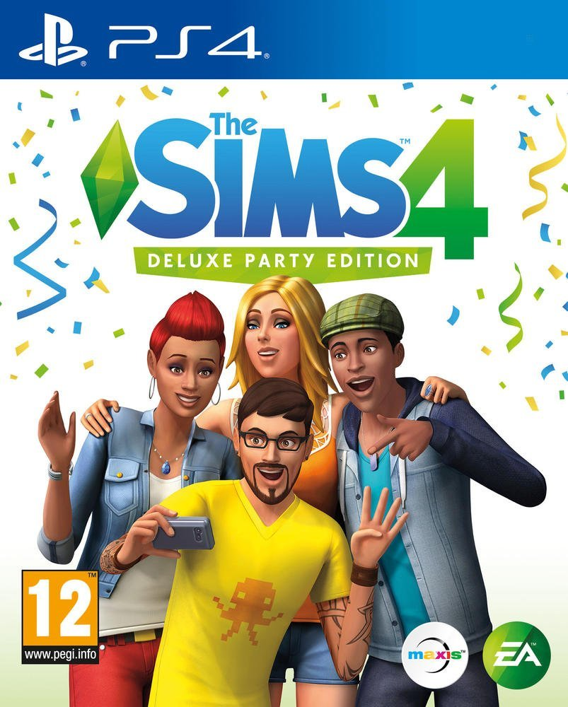 The Sims 4 Deluxe Party Edition - PlayStation 4 Játékok
