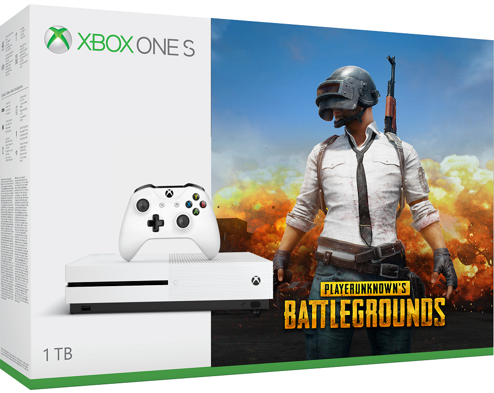Microsoft Xbox One S 1TB Playerunknowns Battlegrounds (PUBG) Bundle