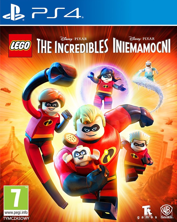 LEGO The Incredibles Video Game - PlayStation 4 Játékok